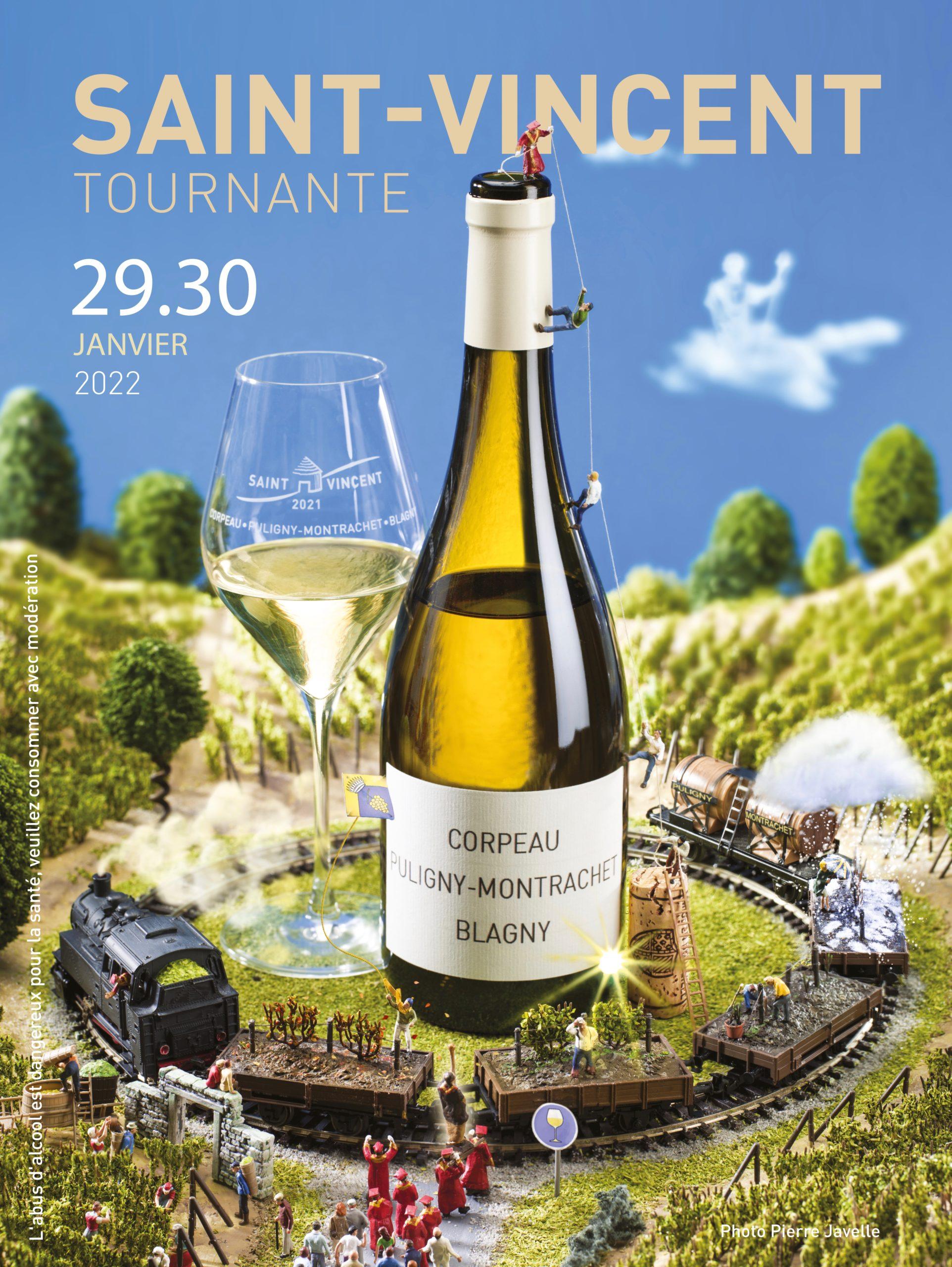 Saint Vincent Tournante 2021 - Pierre Javelle, -  Bourguignon, bénévole et original !